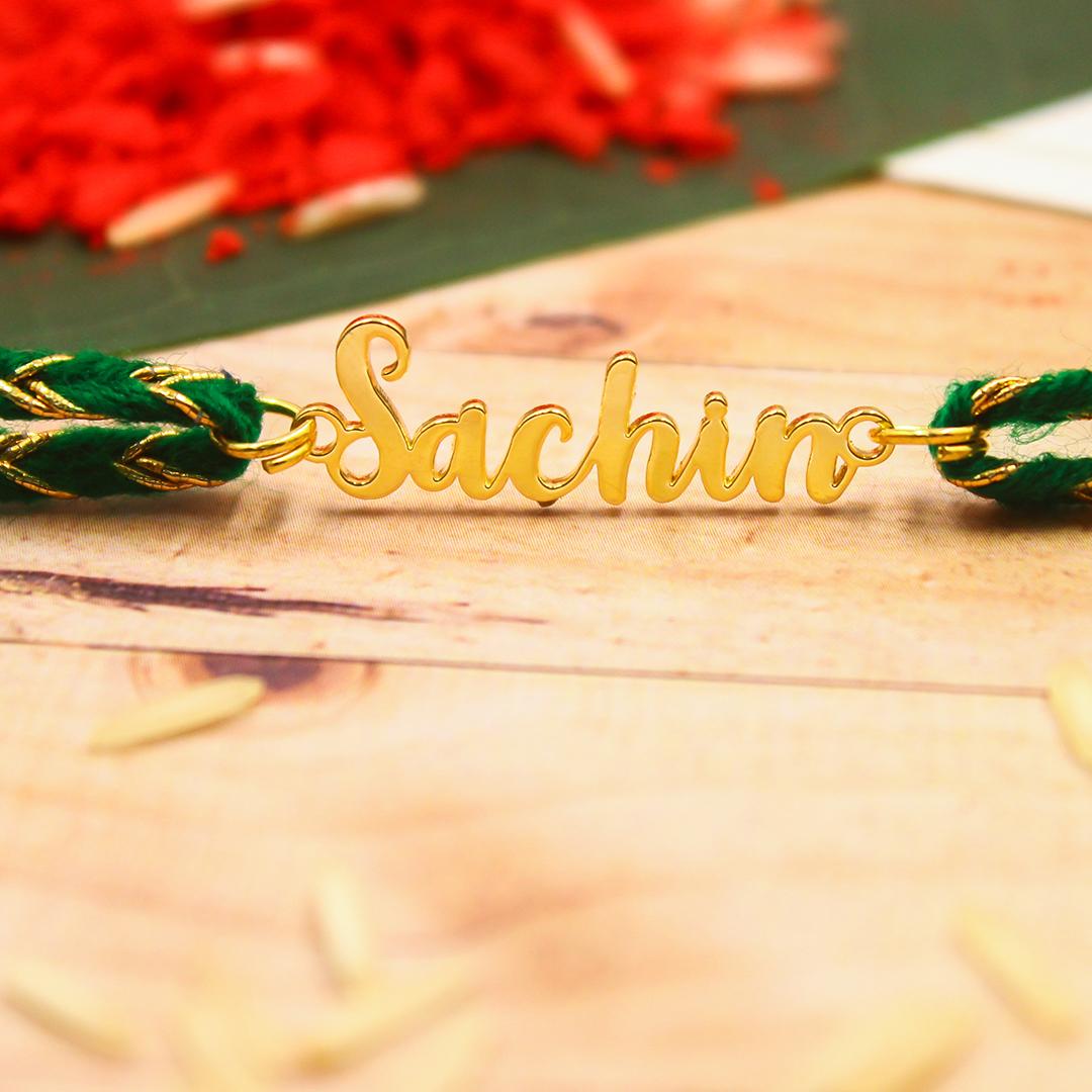 Personalized Rakhi Or Name Rakhi To Show Your Love Order Rakhi Online